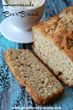 Homemade Beer Bread Recipe