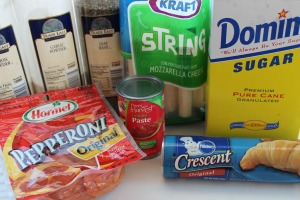 pepperoni pizza crescent rolls ingredients