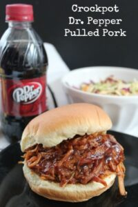 These crockpot BBQ pork sandwiches would be delicious with this mac & cheese recipe!