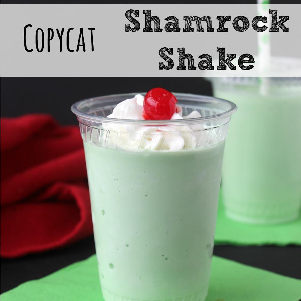 Copycat Shamrock Shake Recipe sq
