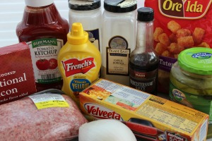 bacon cheeseburger totchos ingredients