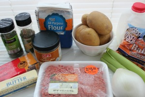 cheeseburger soup recipe ingredients