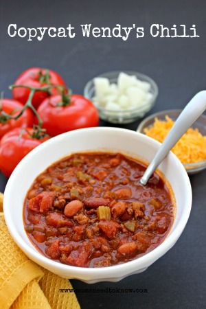 copycat wendys chili recipe