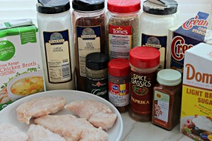 crockpot chicken tacos ingredients