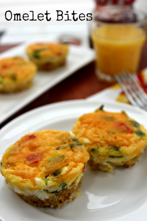 Omelet Breakfast Bites