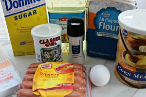 homemade corn dog recipe ingredients