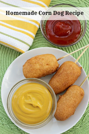 Homemade Corn Dogs Recipe | Kid Friendly and Freezer Friendly!