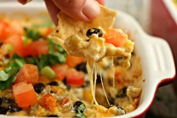 hot corn black bean dip recipe cheese