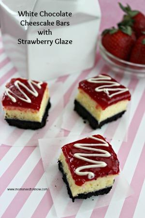 white chocolate cheesecake bars 2