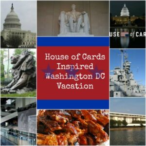 "The last time we went to Washington DC for the weekend, my family didn't even realize that I was taking them on a ""House Of Cards"" tour - because it was so much fun!"