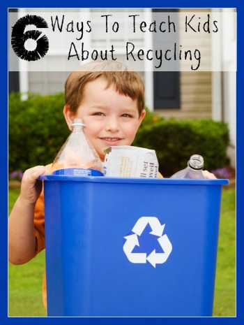 Teach Kids About Recycling