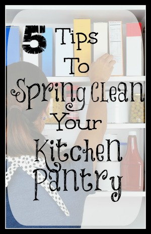 Tips To Spring Clean Your Kitchen Pantry