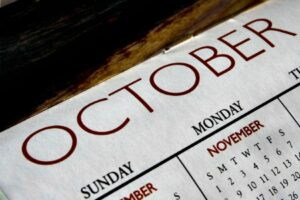 What is On Sale The Month of October