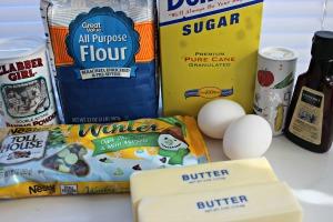 mint chocolate chip cookies ingredients