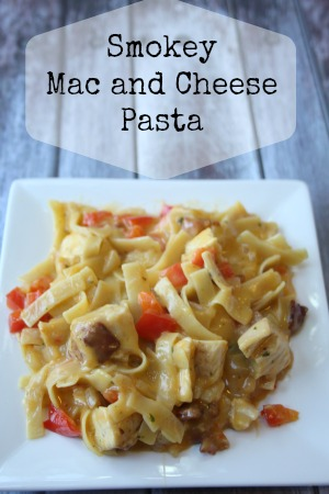 smokey mac and cheese pasta