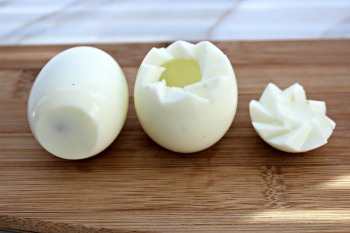 deviled egg chicks egg whites