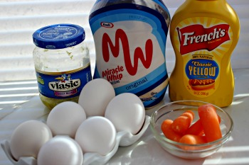 deviled egg chicks ingredients