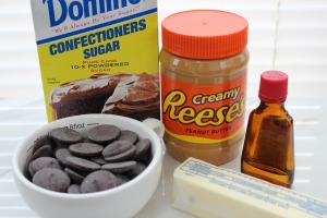 peanut butter cup eggs ingredients