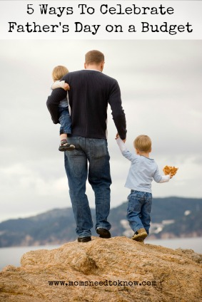 ways to celebrate fathers day on a budget