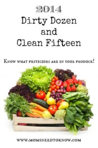 2014 Dirty Dozen And Clean Fifteen List For Produce