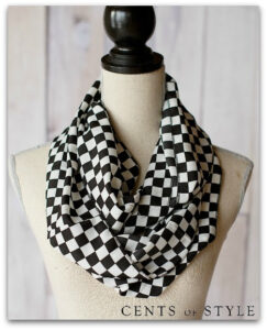 Black + White Infinity Scarves Flash Sale | Just $7.47 Shipped!