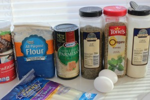 baked mozzarella sticks ingredients