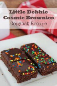 Copycat Little Debbie Cosmic Brownies Recipe