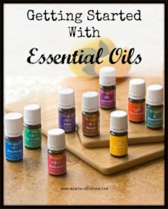 Not sure how to get started with essential oils?  Red more!