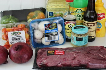 Steak Shish Kabob Recipe Ingredients