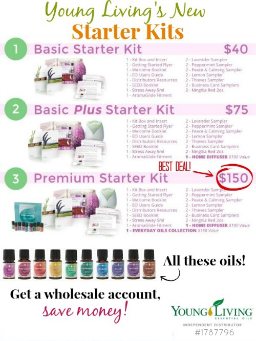Young Living Starter Kits Mindi Cherry