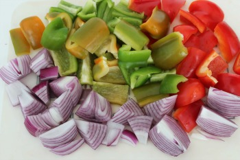 shish kabob vegetables