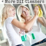 Easy Homemade Window Cleaner + More DIY Cleaners