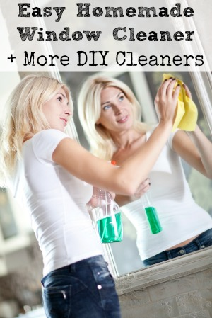 Make Your Own Window Cleaner + More DIY Cleaners!