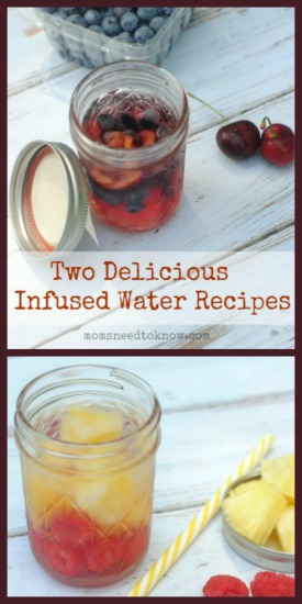 2 Delicious Infused Water Recipes