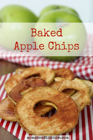 How To Make Baked Apple Chips