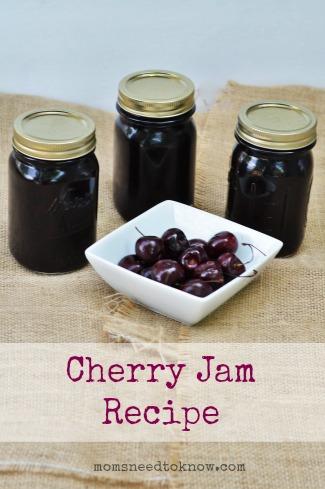 Cherry Jam Recipe | How To Make and Can Cherry Jam | Moms ...