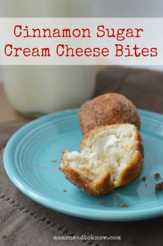Cinnamon Sugar Cream Cheese Bites 2
