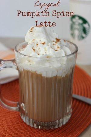 Copycat Pumpkin Spice Latte Recipe