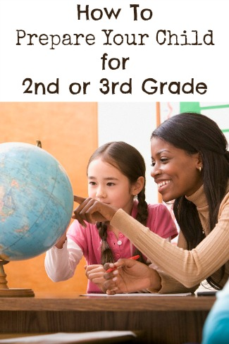 How To Prepare Your Child For 2nd or 3rd Grade