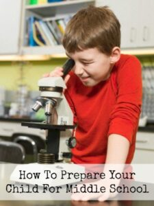 How To Prepare Your Child For Middle School