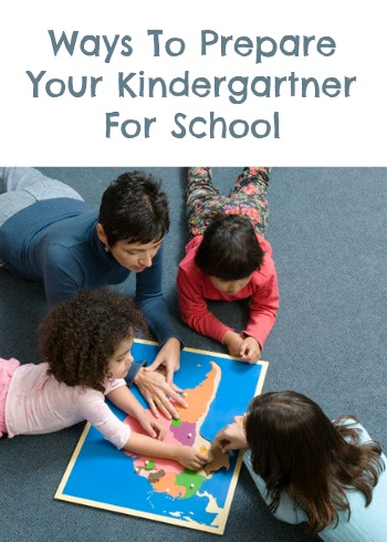 Prepare Your Kindergartner For School