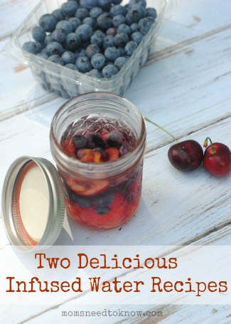 Two Delicious Infused Water Recipes