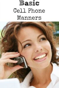 Basic Cell Phone Manners