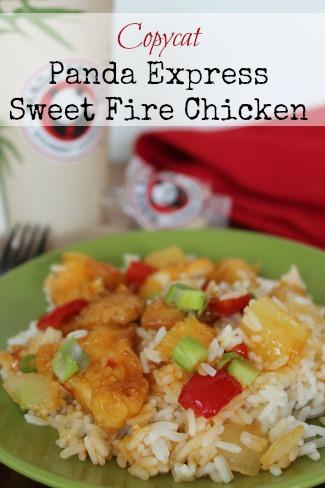 Chicken Stir Fry  Copycat Panda Express Sweet Fire Chicken