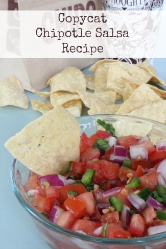 Easy Salsa Recipe Copycat Chipotle