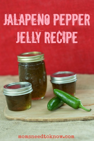 Jalapeno Pepper Jelly Recipe - Moms Need To Know ™