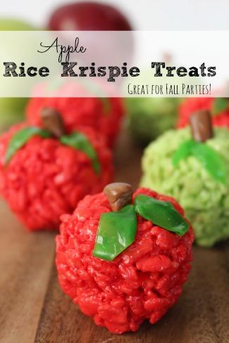Apple Rice Krispie Treats
