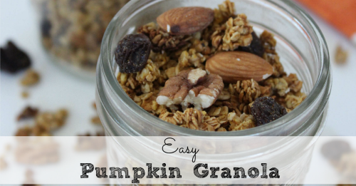 Easy Pumpkin Granola FB small