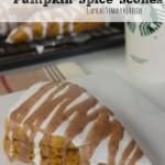 Another great breakfast recipe with pumpkin?  These copycat Starbucks Pumpkin Scones!