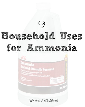 Household Uses For Ammonia